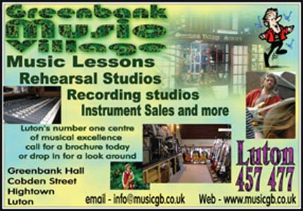 recording and rehearsal studios