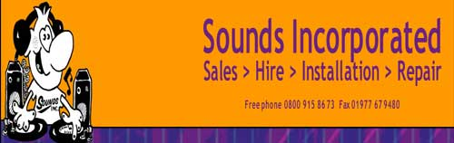 sound & lighting equipment