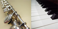 piano and flute tuition